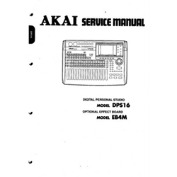 Akai DPS16 Service Manual DPS 16 & EB4M  DPS-16