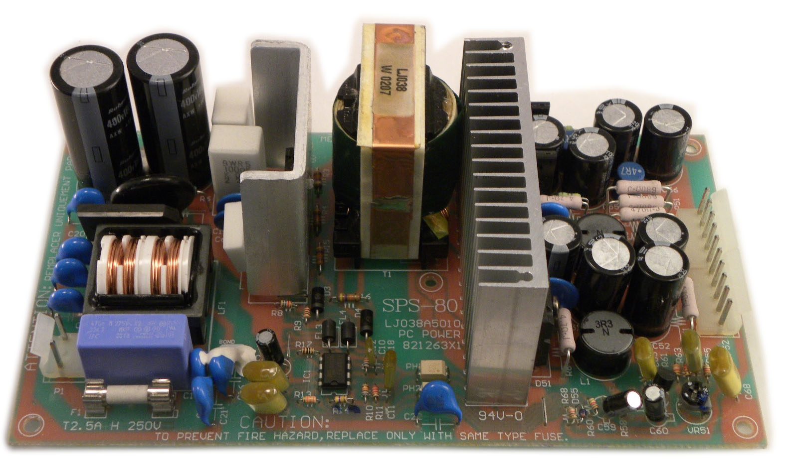 akai-mpc-4000-z4-z8-power-supply-pcb