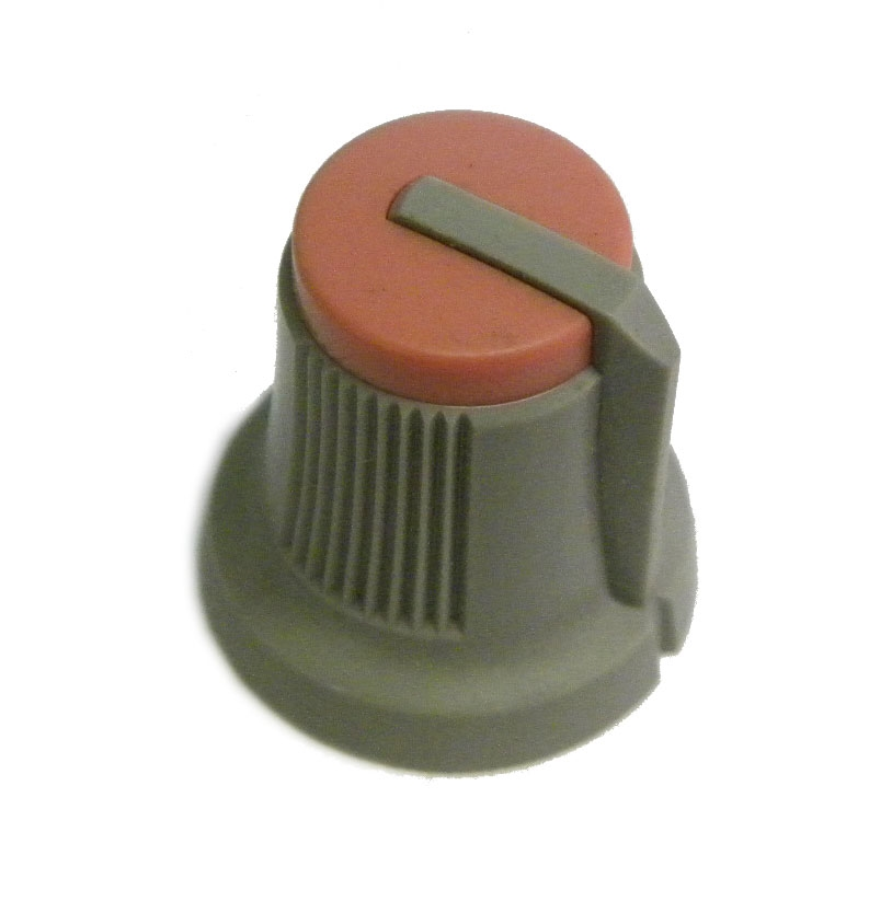 akai-knob-vol-part2-greyred-volume-knob-for-s3000-s3000xl-s3200xl-mpc3000-mpc2000